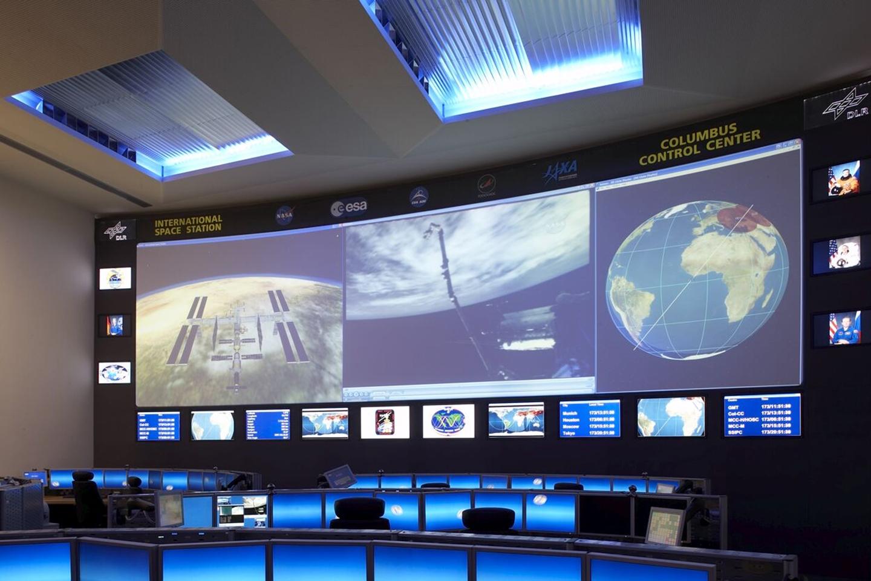 DLR Raumfahrtkontrollzentrum